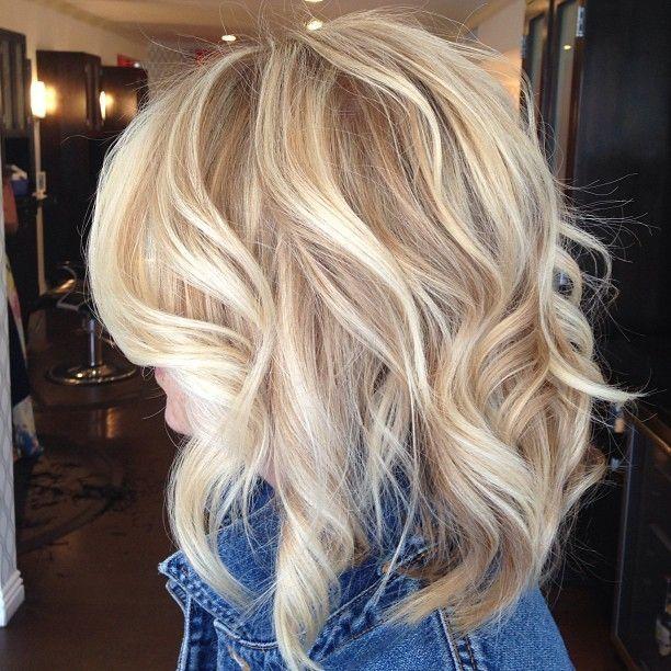 Blonde-Medium-Hairstyles-Lowlights | Best Hairstyles Design - most ...